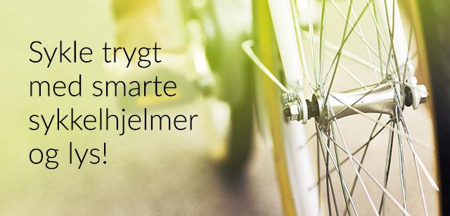 Smarte sykkeltilbehør