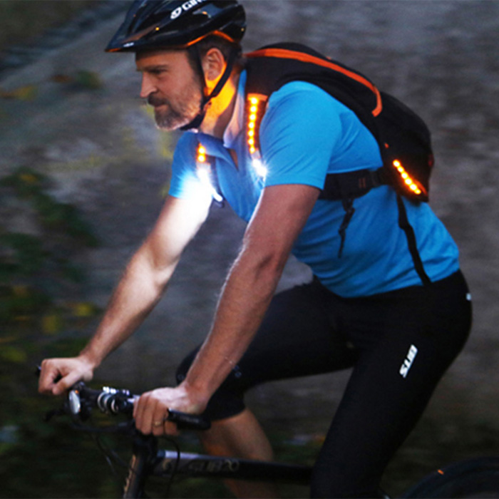 Ryggsäck med LED_belysning