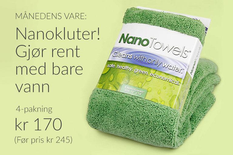 Månedens vara: Nanokluter 4-pakning!