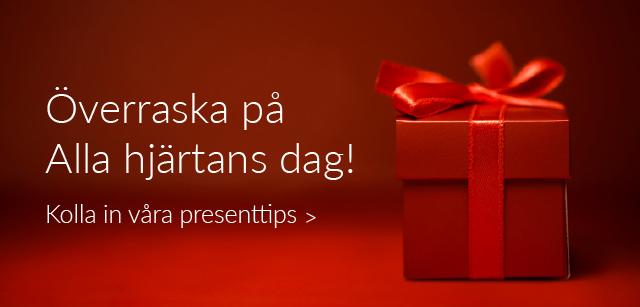 Presenttips Alla hjärtans dag!