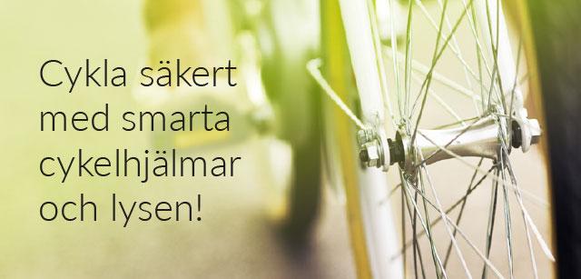 Kolla in våra cykeltillbehör!