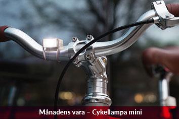 Cykellampa mini uppladdningsbar