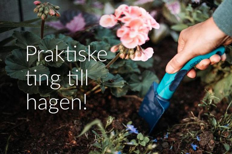 Praktsike ting til hagen!